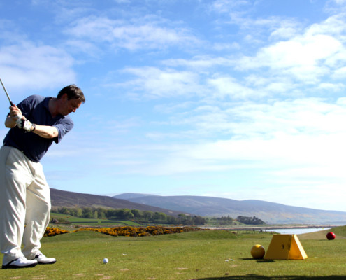 Golf includes Royal Dornoch and many 'Links'